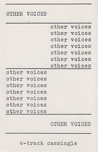 Other Voices: Time To Fly EP (1990)