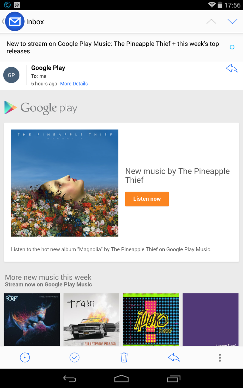 Pineapple Thief at Google Play