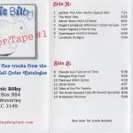 Sonic Bilby: Sampler Tape 1 (1997)