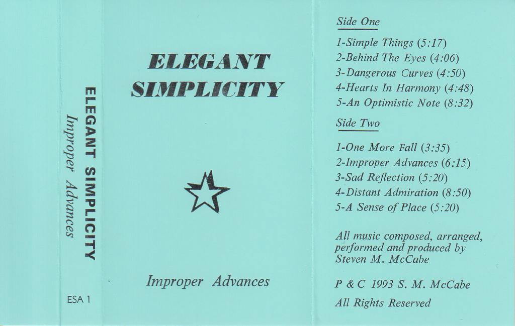 ImproperAdvances - Cassette